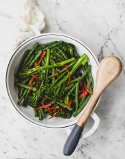 Chilli Bean and Broccolini Stir Fry (4)