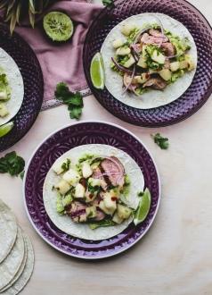 Pork and Pineapple Salsa Tacos